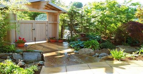 Tips dekorasi Taman Belakang Rumah
