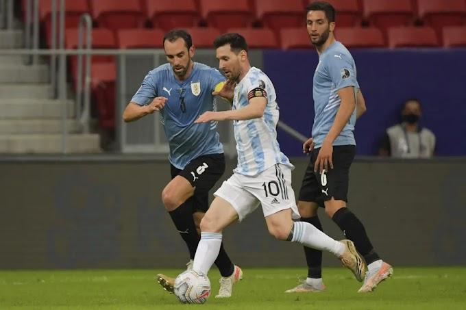 Lionel Messi gets decisive assist as Argentina beat Uruguay in second Copa América match