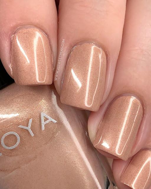Zoya AJ 25 Sweetpeas