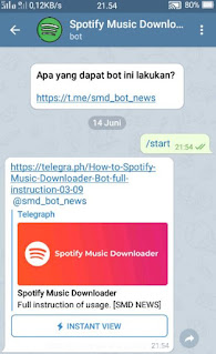download lagu spotify -tampilan menu spotify downloader