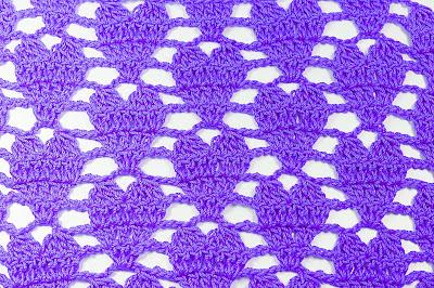3 - Crochet IMAGEN Punto de corazón a crochet y ganchillo. MAJOVEL CROCHET