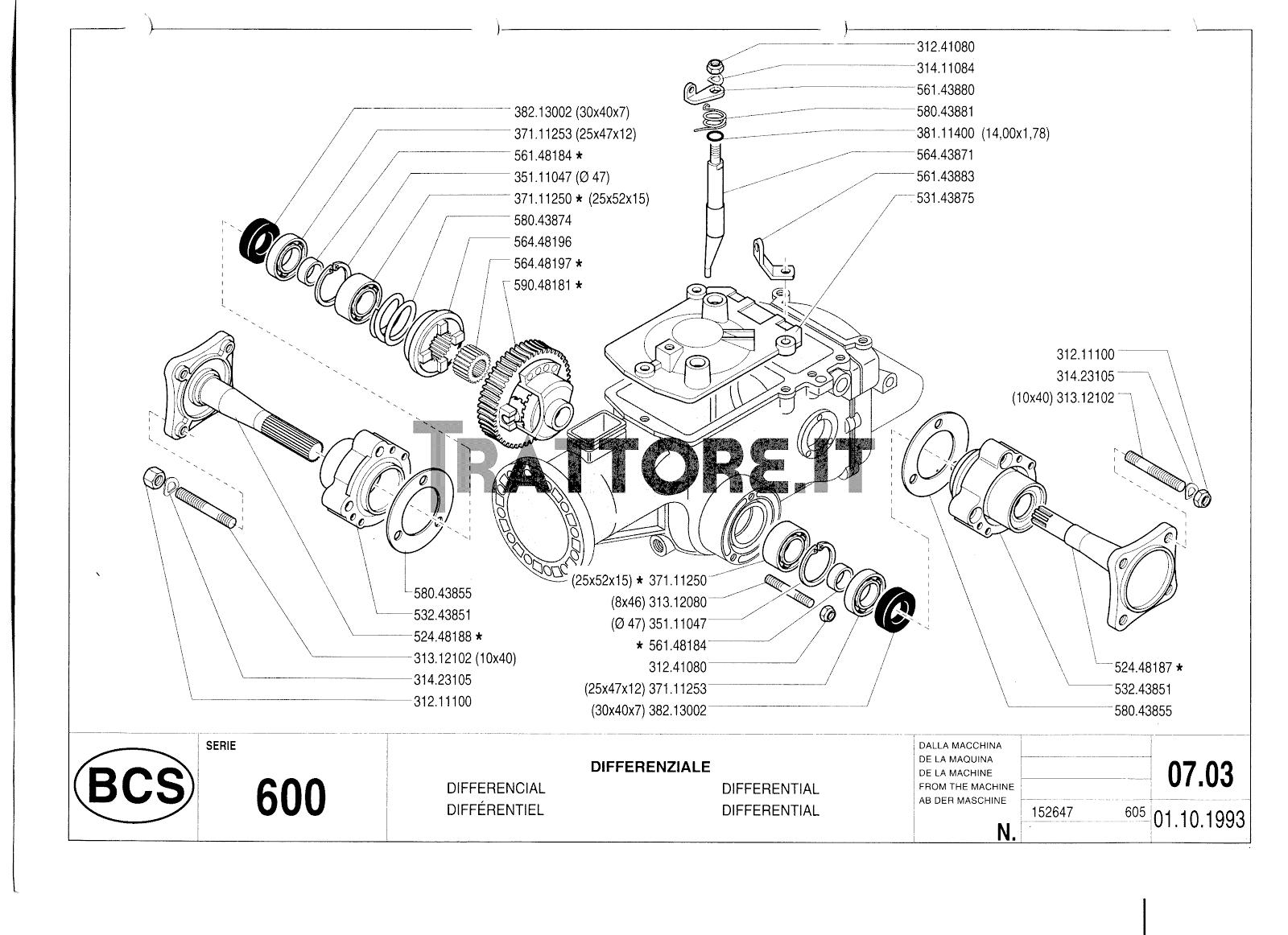 InfoTrattore.it: Manuale (esploso meccanico