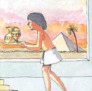 Giuseppe al servizio di Potifar