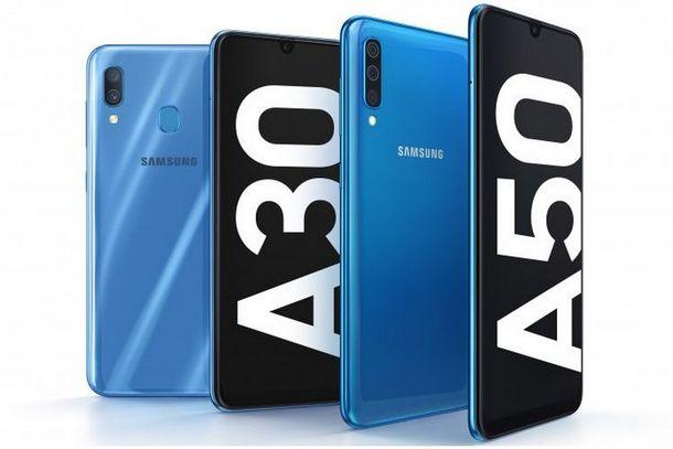 Galaxy A30 dan Galaxy A50