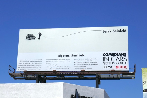 Comedians in Cars Getting Coffee season 10 billboard