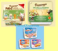 Logo Buoni sconto Parmareggio Petali di Parma, Teneroni e ABC della Merenda : come stamparli