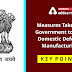 Measures Taken by Government to help Domestic Defence Manufacturing: Key Points