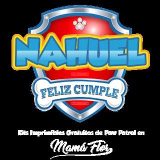 Logo de Paw Patrol: Nahuel