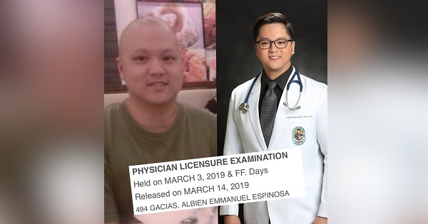 Best #10YearChallenge: From cancer patient to licensed physician