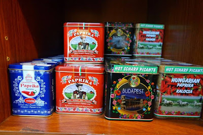 Hungarian Paprika at Memories of Hungary in Budapest