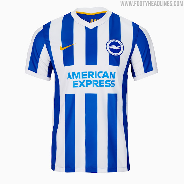 Brighton & Hove Albion 21-22 Home Kit Released - Footy Headlines