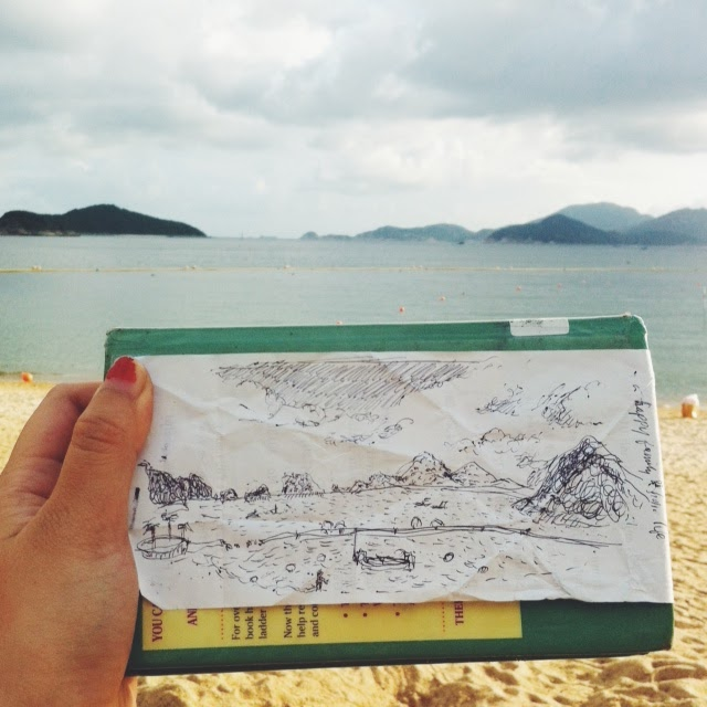 Kitty N. Wong / Repulse Bay Landscape Drawing