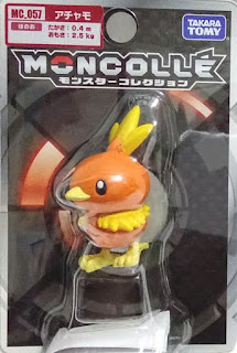 Torchic figure Takara Takara Tomy Monster Collection MONCOLLE MC series
