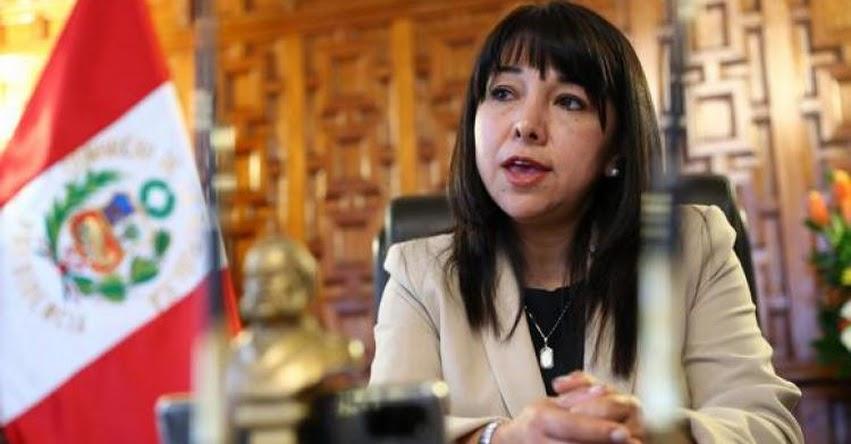 MIRTHA VÁSQUEZ: Extitular del Congreso asumiría la Presidencia del Consejo de Ministros, tras renuncia de Guido Bellido