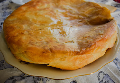 Burek with Mushrooms