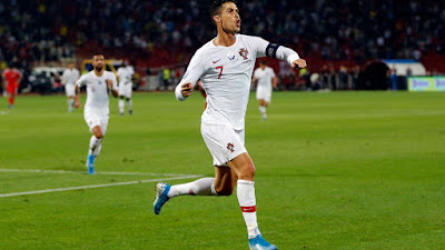 Ronaldo breaks another Record in European Championship Qualifiers