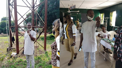 Ibusa Youth President  Visits General Hospital In Delta State