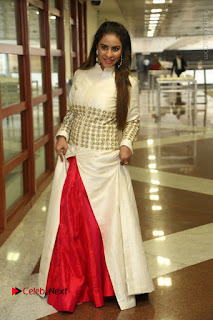 Telugu Actress Sri Reddy Mallidi Stills in White Beautiful Dress at Marriage Needs Bridal Fashion Week 2017 Logo Launch  0035.JPG
