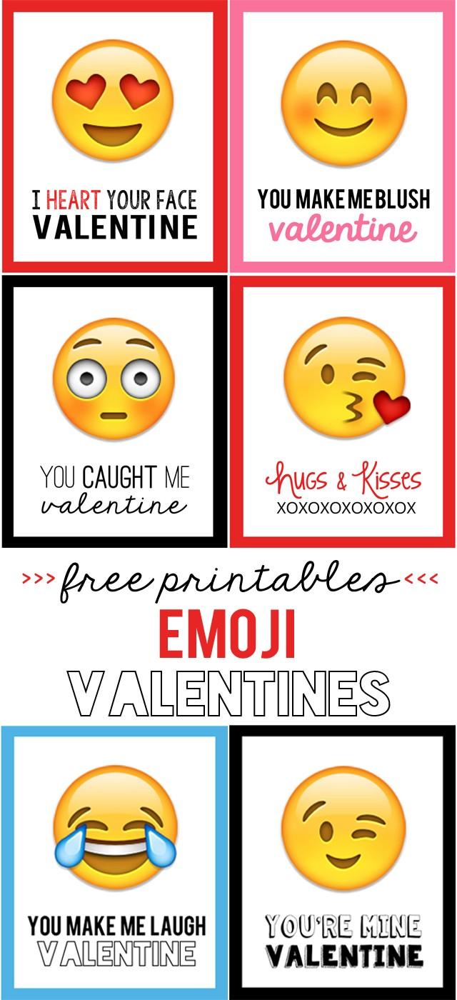 michelle paige blogs print your own emoji valentines