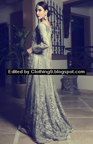 New Pakistani Wedding Dresses Bridal Party Wears 2016 2017