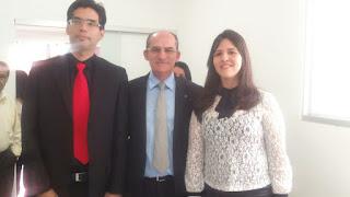OAB Guarabira realiza entrega de carteiras à dois novos advogados