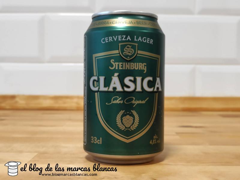 Cerveza STEINBURG clásica (Mercadona) en El Blog de las Marcas Blancas