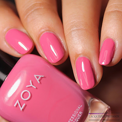 Nail polish swatch of Brandi from the Zoya Thrive Spring 2018 Collection
