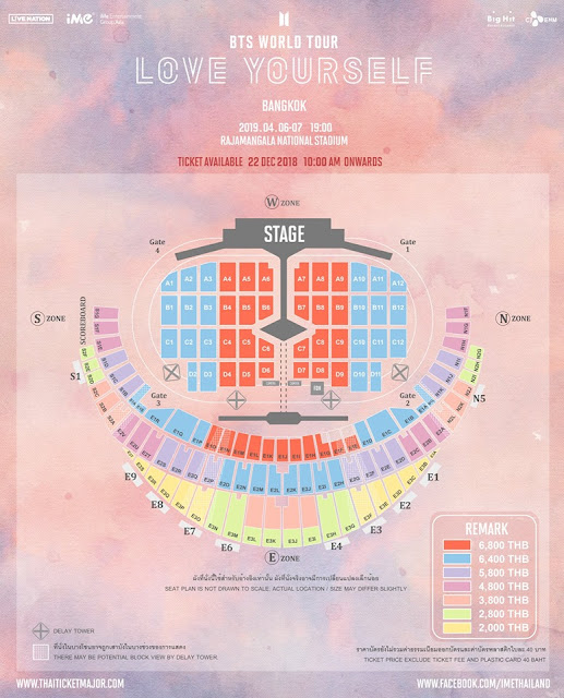 Bts World Tour 2020.Nurul Farhana Rosli Concert Bts 2019 Love Yourself Tour