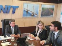 A pedido de Netto Lima, deputada Edna Henrique solicita ao DNIT redução da faixa de domínio da BR-230 em Santa Luzia