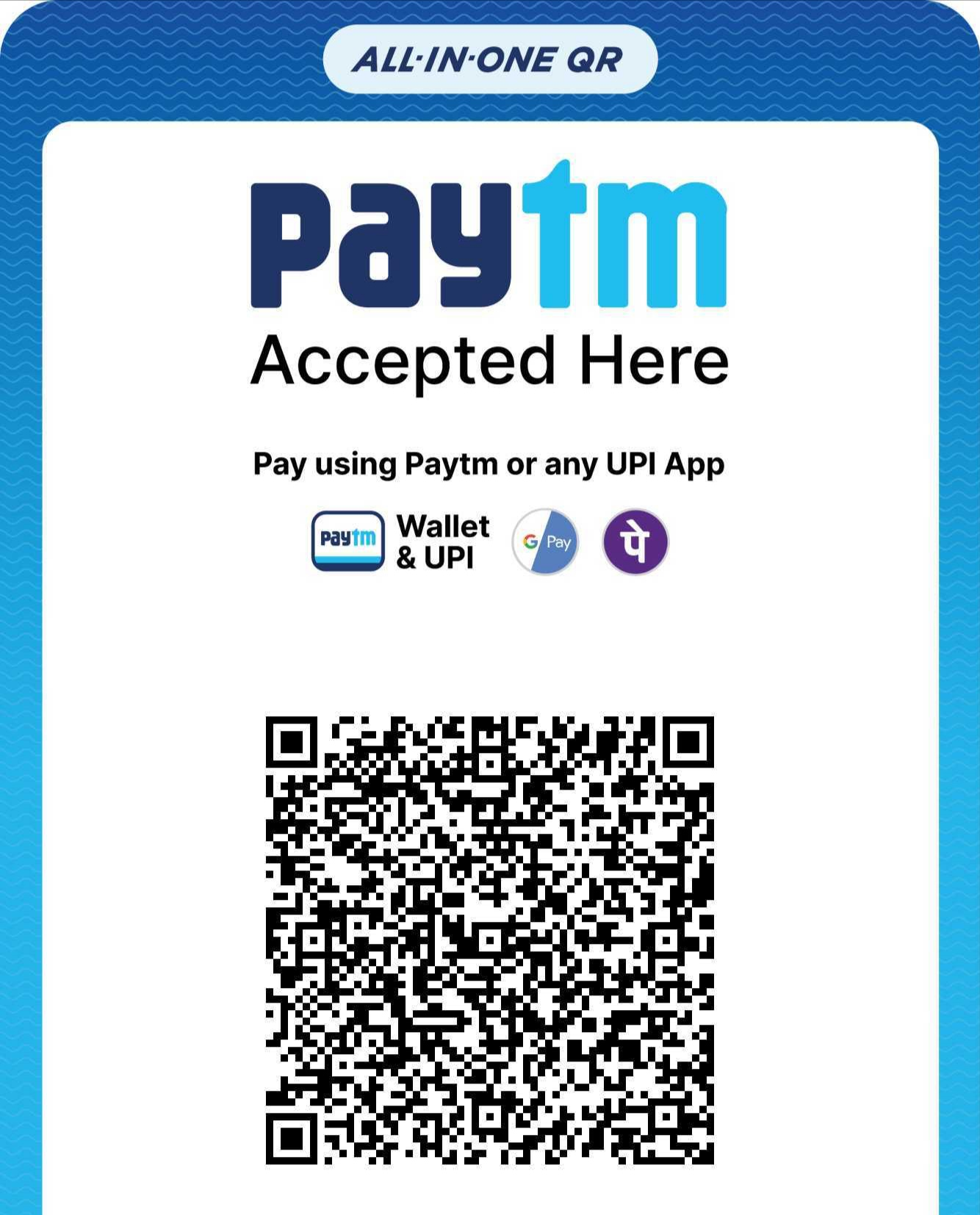 Paytm QR Code for free movie download