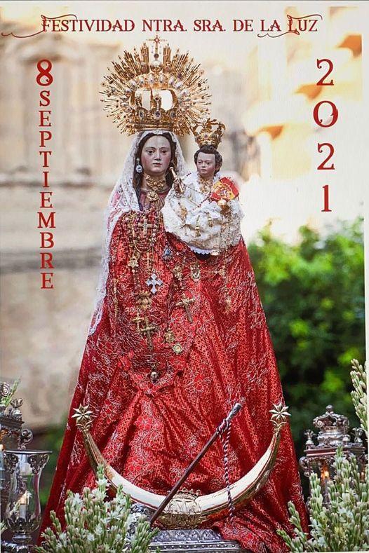 Cartel anunciador de la festividad de Ntra. Sra. de la Luz, Patrona de Tarifa 2021