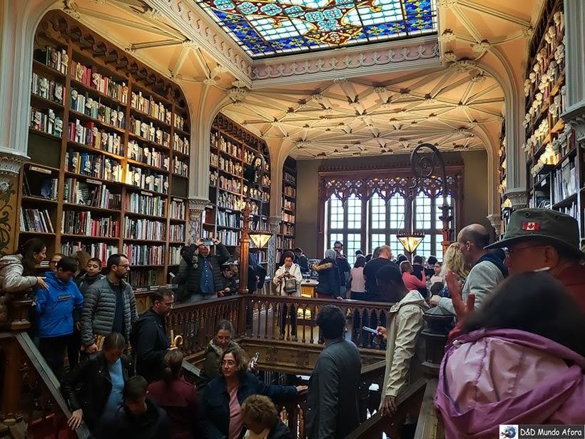 Livraria Lello - O que fazer no Porto, Portugal