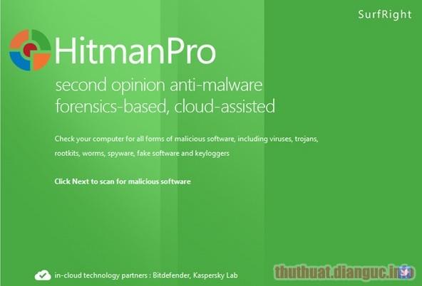 Download Hitman Pro 3.8.15 Build 306 Full Crack, phần mềm quét và tiêu diệt các loại phần mềm độc hại,Hitman Pro, Hitman Pro free download, Hitman Pro full key