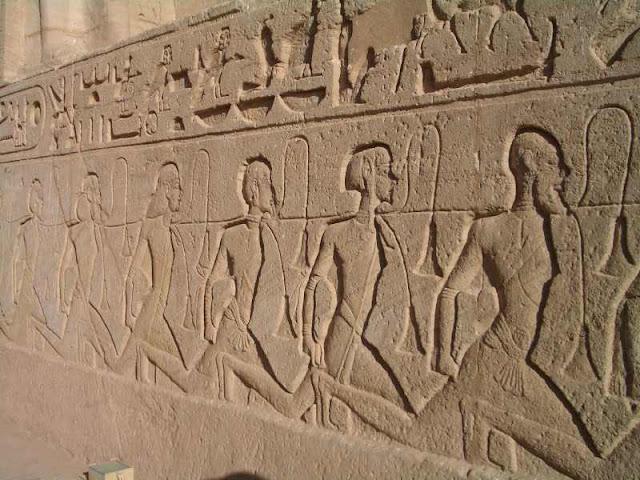 antiguo |  la pintura y la escultura egipcia