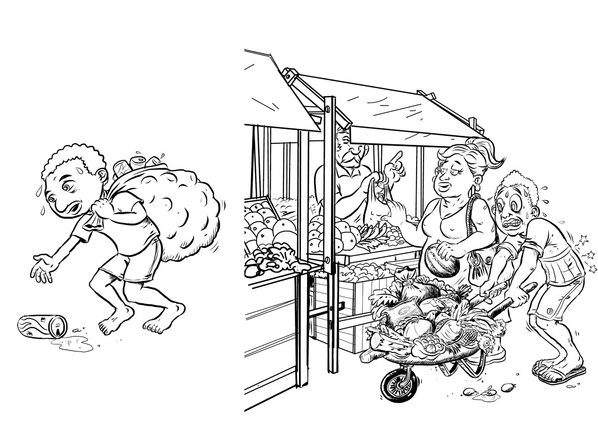 Manga studio ex 5 coloring pages ~ Schueler Illustrations