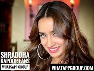 Shraddha Kapoor Fans WhatsApp Group Links