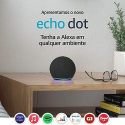 Novos Alexa Echo Dot de 4ª Geração