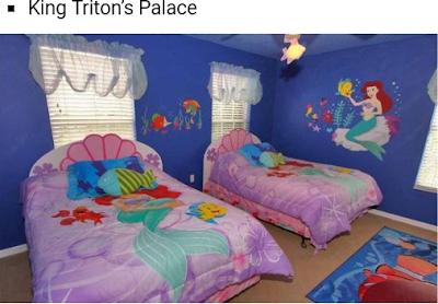 tempat tidur mermaid untuk anak perempuan