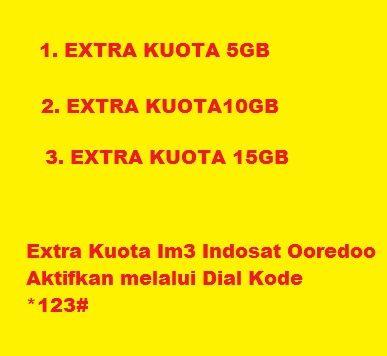 Cara Mengaktifkan Paket Internet Indosat Im3 Ooredoo Extra Kuota Cara Cek Sisa Paket