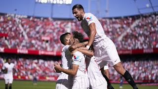 Volviò la Magia, SEVILLA FC-5-3- Levante U.D.