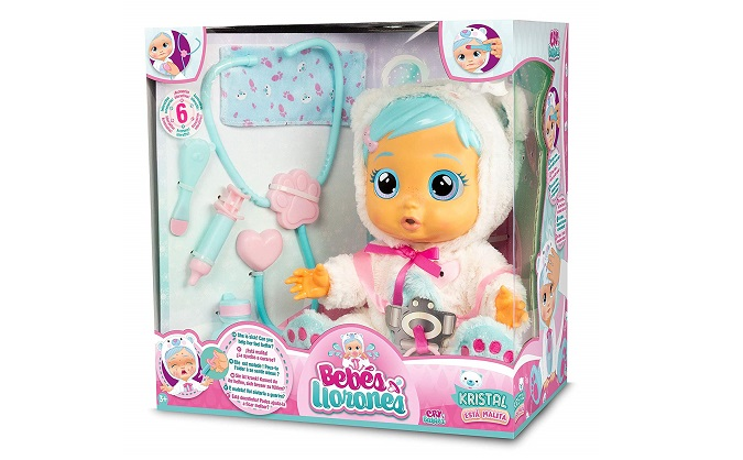 Kristal está malita de IMC Toys.