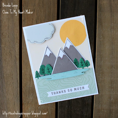 card created with Wander—Cardmaking Stamp + Thin Cuts