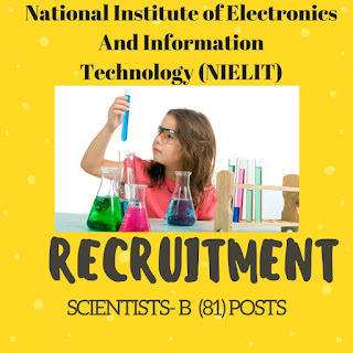 NIELIT Scientists Posts