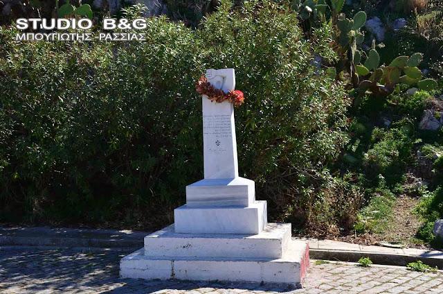 Κατάθεση στεφάνων από το ΚΚΕ Αργολίδα για την Ημέρα λήξης του Β' Παγκοσμίου Πολέμου