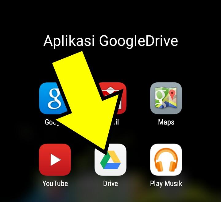Aplikasi-Penyimpanan-Google-Drive