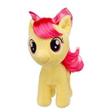 My Little Pony Apple Bloom Plush by Build-a-Bear