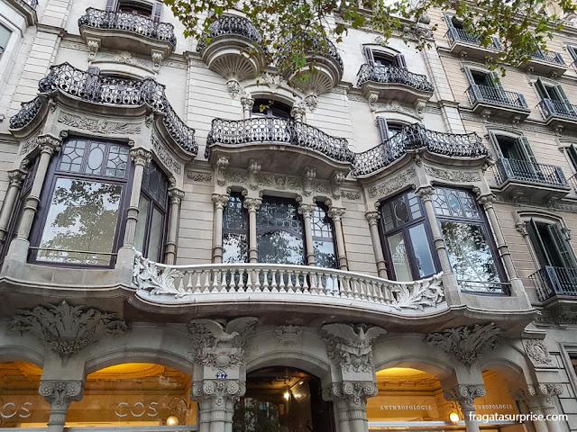 Casa Malagrida, Passeig de Gràcia, Barcelona