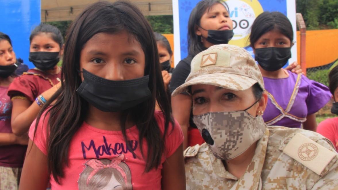 Jornada de apoyo al desarrollo llegó hasta la vereda Ágüita en Pueblo Rico