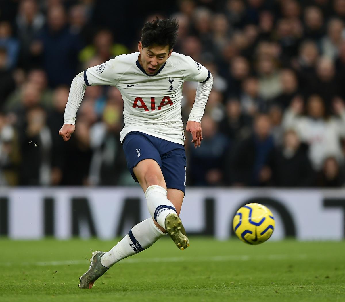 Son of Tottenham shoots