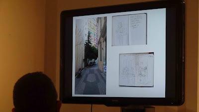 Sandrine Martin, enquête à Athènes, au festival BD6né